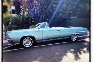 1966 Chrysler Imperial California Convertible Only 514 Made Better than Cadillac