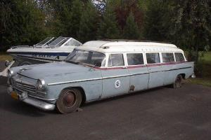 Airporter Limo 1956 Chrysler 8 door station wagon,  not Dodge, Plymouth, Desoto