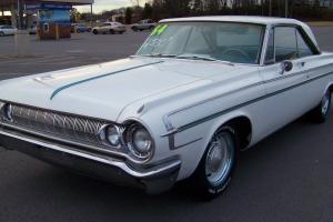 1964 Dodge Polara 2 Door Hardtop WB 318 Push Button Automatic Nice Mopar