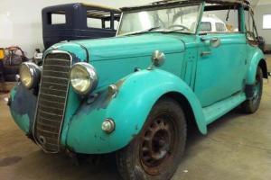 1937 Hillman Magnificent Foursome Drophead Coupe **No Reserve**