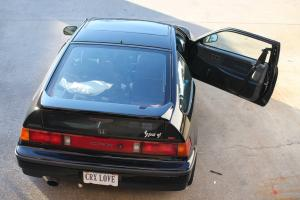 1989 Honda CRX SI Black Photo