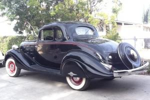1934 Hudson 8 cyl. Coupe