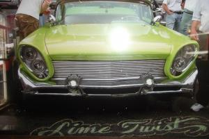 "1958 Lincoln Capri 2 door Old School Custom Led Sled ""Lime Twist"""