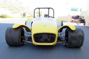 Lotus 7 S2 Dry Sump Lotus Twin Cam, garage find vintage race car Photo