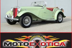 1952 MG-TD- FULL RESTORATION-INVESTMENT GRADE- ARIZONA CAR- 30 YEAR FAMILY OWNED