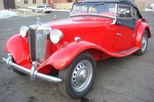 1950 MG-TD RESTORED
