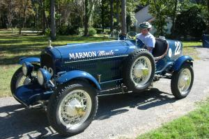 RARE 1929 Marmon Boat Tail Race Car