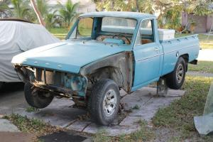 1974 Ford Courier vintage pickup - counterpart to the Mazda REPU
