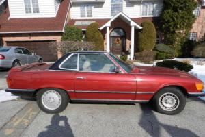 1973 450SL CONVERTIBLE NEW PAINT LOW MILES V8 NEW SEATS