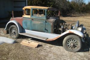 1928 REO - Flying Cloud Rumble Seat Coupe - For Parts or Restore - NO RUST