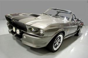 AWESOME RESTOMOD CONVERTIBLE ELEANOR SHELBY CLONE ROTESSERIE RESTORED 428 5 SPD Photo
