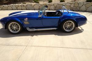 ERA 1965 Shelby Cobra Replica - ERA#430 - Blue w/ White Stripes Photo