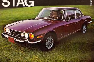 1972 Triumph Stag - Vintage - Preservation Car, Barnfind