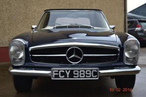 Mercedes-Benz 230SL 1965 Pagoda fresh from a full Restoration