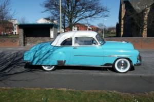 Not hotrod.Classic car. chevy sport coupe.1951