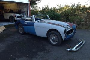 Austin Healey 3000 mk2A for restoration