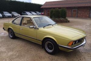 BMW 633csi 1978, 58,000 miles, full service history!