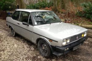 "Fiat 131 Racing/Sport Mirafiori ""BARN FIND"" needs light restoration, low mileage"