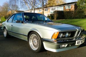BMW 635 CSI RARE MANUAL E24 Classic 1983 Series 2