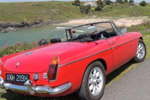 MGB Roadster - 1970 chrome bumper ex-dry climate and tax exempt