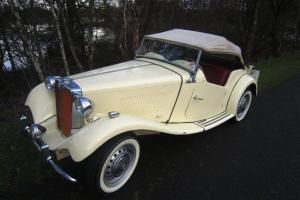 MGTD, lovely early car from 1950 in lovely original condition