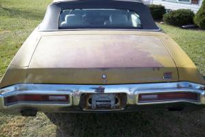 1971 Buick Skylark GS 455 convertible project factory N25  bumper 1 0f 147 cars