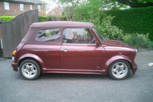 classic rover mini convertible 1 of only 75 made  Photo