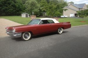 1963 Two Door Cadillac DeVille Convertible