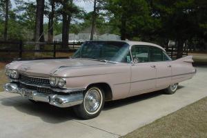 1959 Cadillac Sedan Deville 6 window hard top original 65,786 miles!!