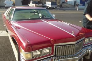 1975 Cadillac Coupe De Ville, 91900 Org. miles, White On Red, Original Owner