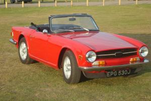 1971 TRIUMPH TR6 150BHP UK CAR