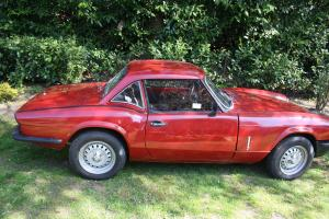 1978 TRIUMPH SPITFIRE MK4 RED LEFT HAND DRIVE