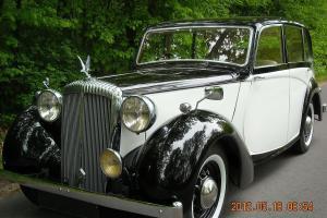 DAIMLER DB18 , SALOON , OLDTIMER ,. 1949 , ENGIN 2522CC,