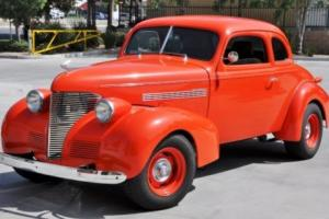 1939 39 Chevrolet Chevy Master Deluxe Business Coupe Hot Rod Street Photo
