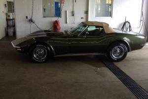 1970 Corvette Stingray Convertible -Original!, RARE Donneybrooke Green w. h-top