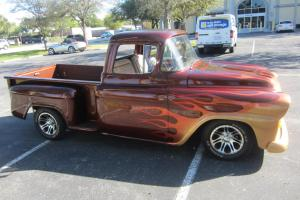 1959 CHEVY APACHE PICK UP FULLY RESTORED RUST FREE TRUCK LOW RESERVE