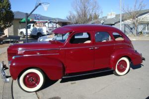 1939 Dodge Luxury Liner - Silver Anniversary Triumph - 4 door sedan - Maroon Photo