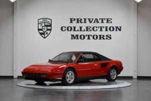 1988 Ferrari Mondial Clean Carfax Convertible Clean Car