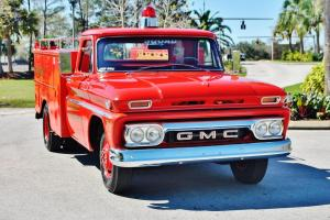 spectacular all original 1966 GMC 1 Ton Fire Truck just 18ooo iles must see wow