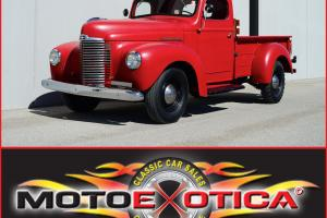 1949 INTERNATIONAL HARVESTER KB1 - INLINE SIX - GREAT CONDITION AND DRIVER