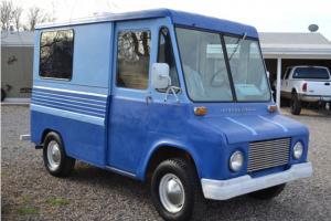MetroMite Classic Panel Van Delivery, Box Step Van, Vintage Truck NO RESERVE