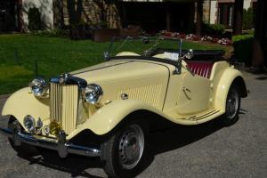 1953 MG T