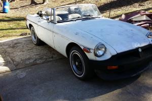 1977 mg mgb. with a hard to find overdrive 4 speed manual transmission Photo