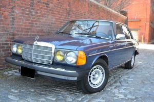 1985 Mercedes Benz 300D Turbo Diesel - Local 1 owner w 53k original miles W123