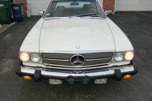 1985 380-SL V8 White with Red, Hard Top and New Soft Top