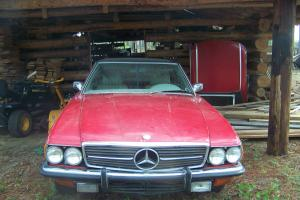 cherry red w/hard top & new black top,not wrecked,stored running in shed 5 years