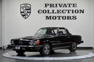 1986 Mercedes-Benz 560SL Super Clean Clean Carfax Must
