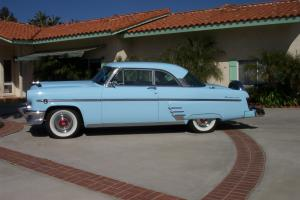 1954 Mercury 2 dr hardtop. Rust free California Car Continental wheel NO Reserve