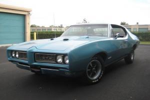 1968 Pontiac GTO Base 6.6L Meridian Turquoise Photo