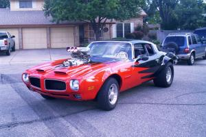 Custom 1971 Pontiac Firebird! ROLL CAGE, ROAD OR TRACK READY!